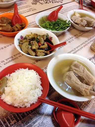 13夕食 骨付き肉スープ.jpg